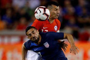 Chile pone el fútbol y saca empate de su visita a Estados Unidos en Houston