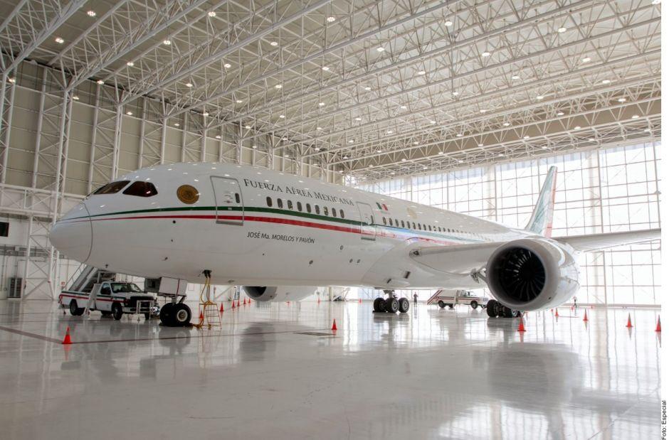 AMLO confirma el regresa avión presidencial a México para ponerlo a la venta