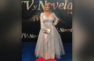 'Te hicieron ver gorda': Destrozan a Andrea Legarreta por vestido en Premios TVyNovelas 2019