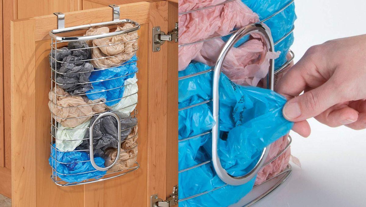 Los 3 mejores contenedores para almacenar las bolsas plásticas del supermercado que tienes por todos lados