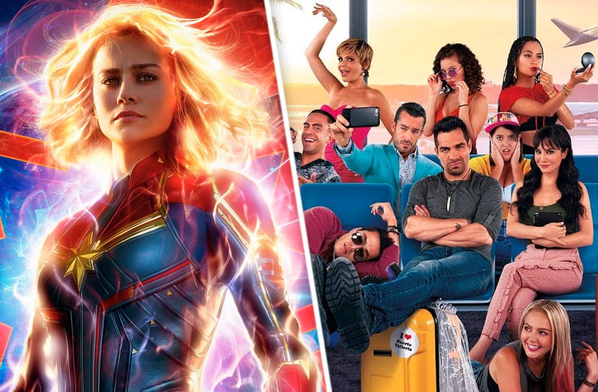 """La película """"Captain Marvel"""" y """"No Manches Frida 2"""" en taquilla"""