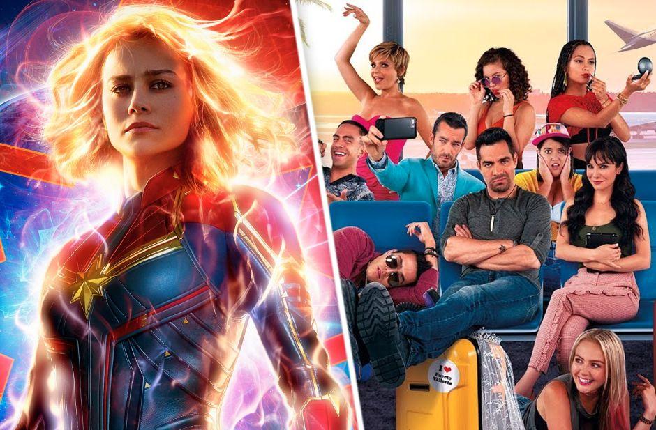 'No Manches Frida 2' y 'Captain Marvel' triunfan en taquilla de USA