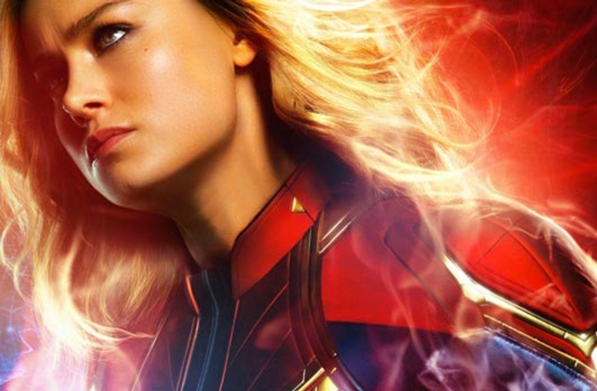 Brie Larson personifica a Captain Marvel