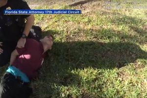 Revelan video inédito de la captura de Nikolás Cruz, autor de la matanza de Parkland