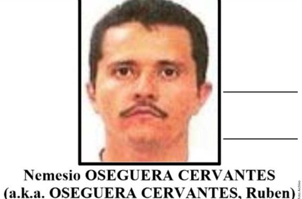 """Nemesio Oseguera """"El Mencho"""", líder del CJNG."""
