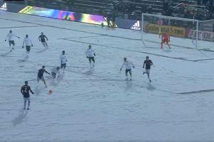 El sábado se jugó el partido más frío de la historia en la MLS