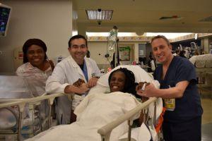 Mujer de Houston da a luz sextillizos en tan sólo nueve minutos
