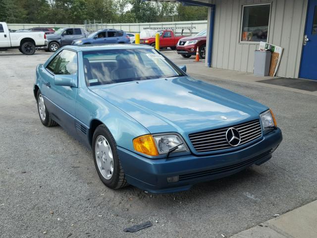 GALERÍA: Un Mercedes 500 SL robado en 1991 fue hallado … y está espléndido