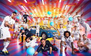 Audi obsequia autos eléctricos a jugadores del Real Madrid