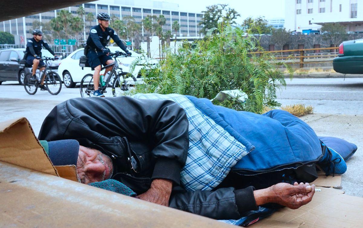 Aumenta la cifra de personas sin hogar.