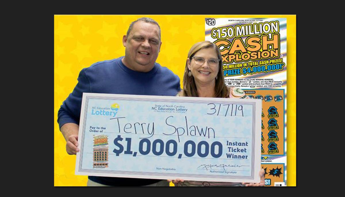 Este hombre ganó un premio de lotería de $1 millón, por segunda vez y en la misma tienda