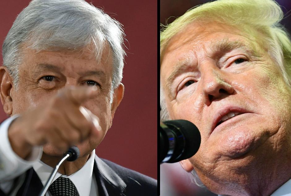 López Obrador le responde con un fuerte derechazo a Trump