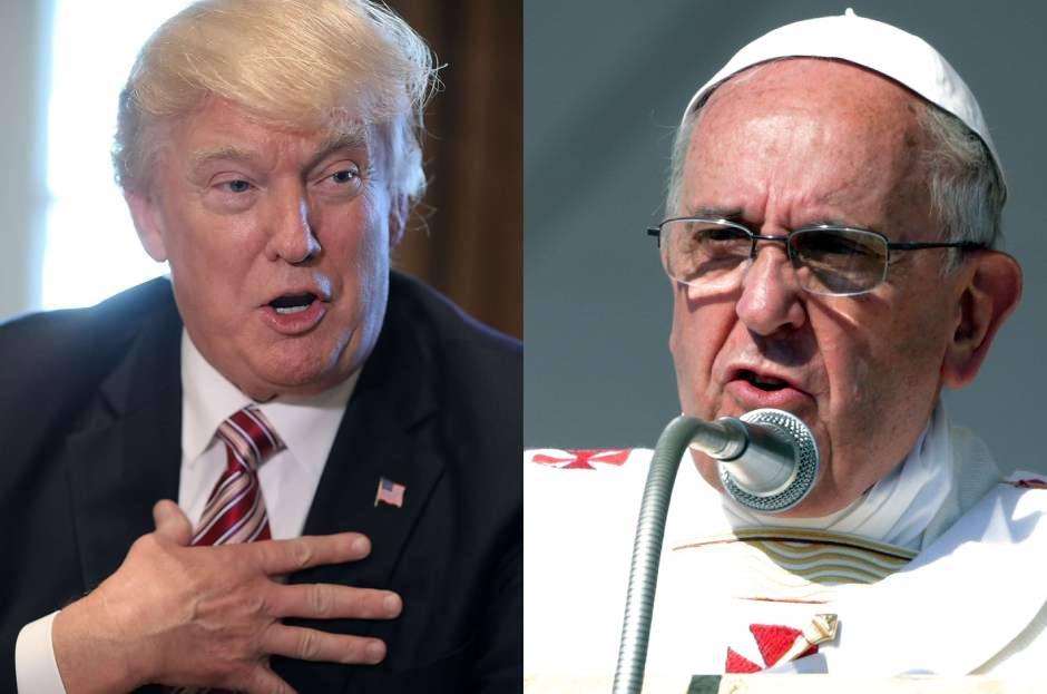 El Papa Francisco arremete contra el muro de Trump y hace oscuro pronóstico