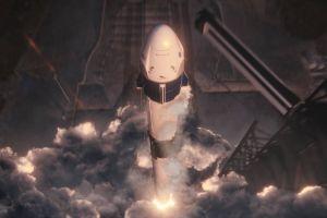 Todo listo para la prueba de la primera misión espacial comercial de NASA y SpaceX