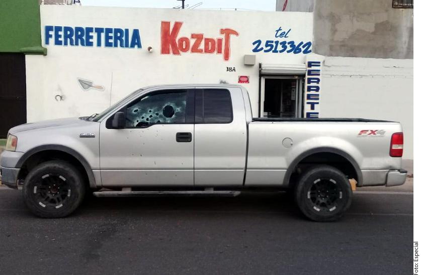 Asesinan a agente ministerial en Sonora