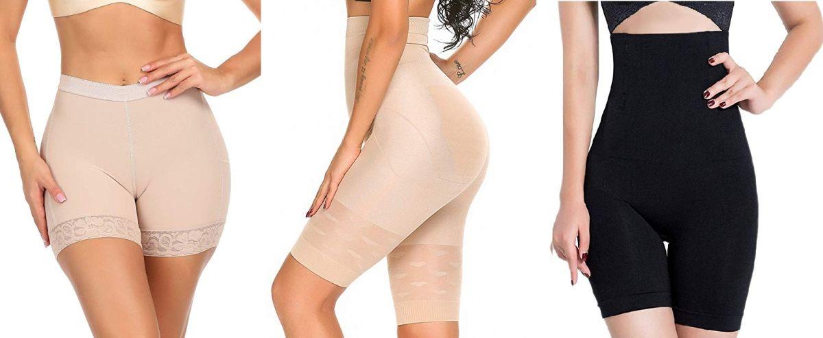 5 fajas tipo short con corte alto para moldear tus caderas y cintura