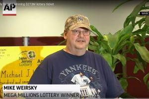 Un buen samaritano permitió a este hombre ganar los $273 millones de Mega Millions