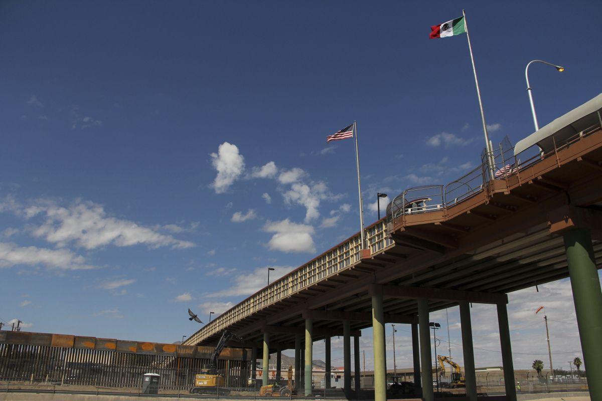 Frontera entre El Paso y Ciudad Juárez.
