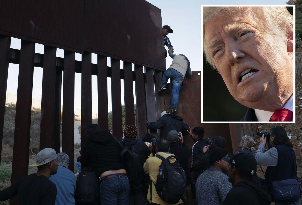 """VIDEO: El muro fronterizo que Trump calificó de """"impenetrable"""" lo puede escalar una niña de 8 años"""
