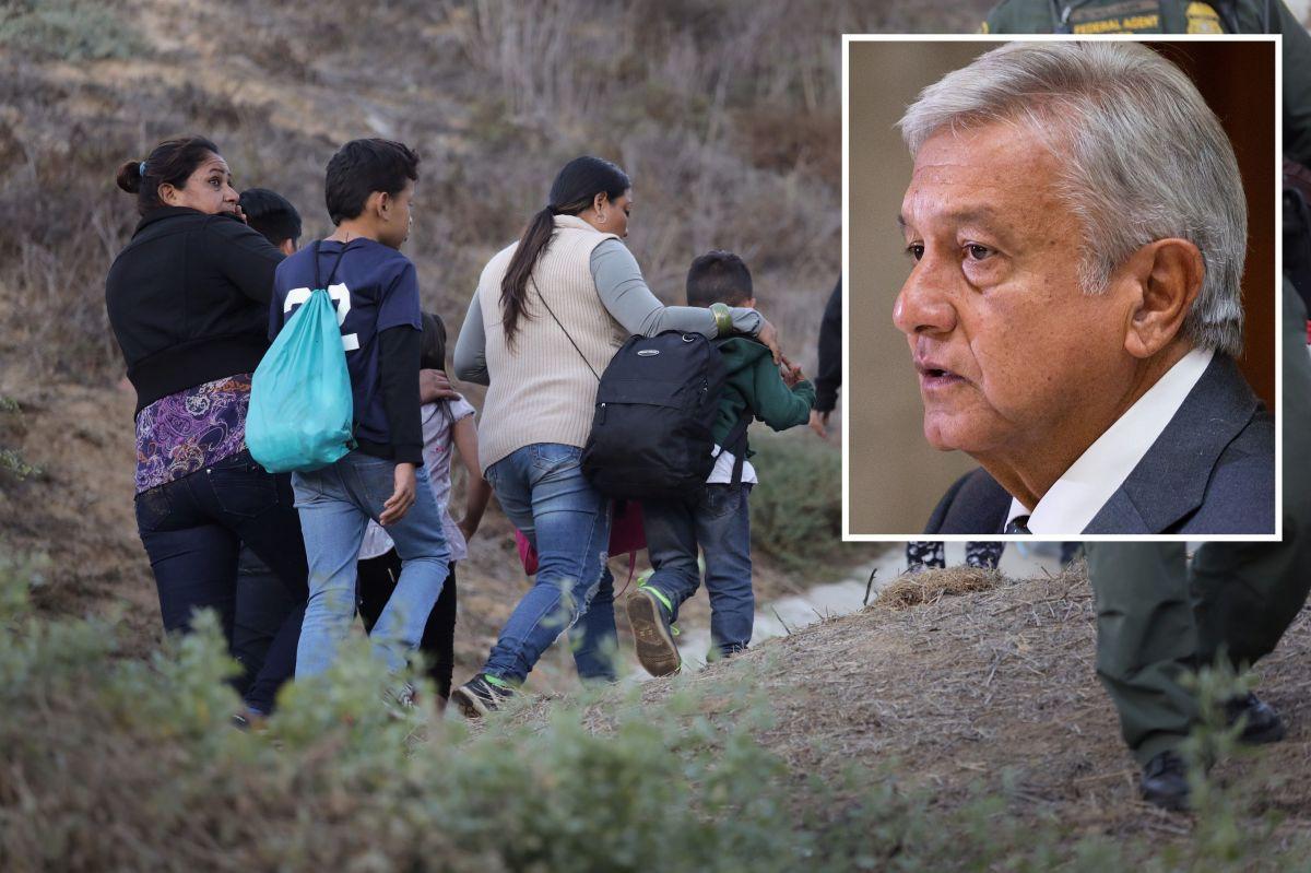El presidente López Obrador ha hablado de ayuda humanitaria a inmigrantes.