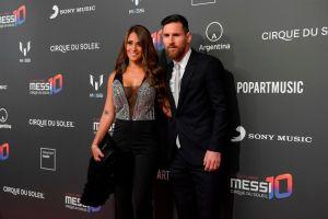 El atrevido look de la esposa de Messi, Antonella Roccuzzo, que acapara miradas