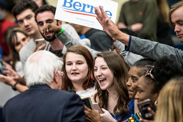 Bernie Sanders se presentará hoy en el Grand Park de Los Ángeles