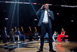 Los Spurs, la NBA y la afición le dan emotivo adiós a Manu Ginóbili