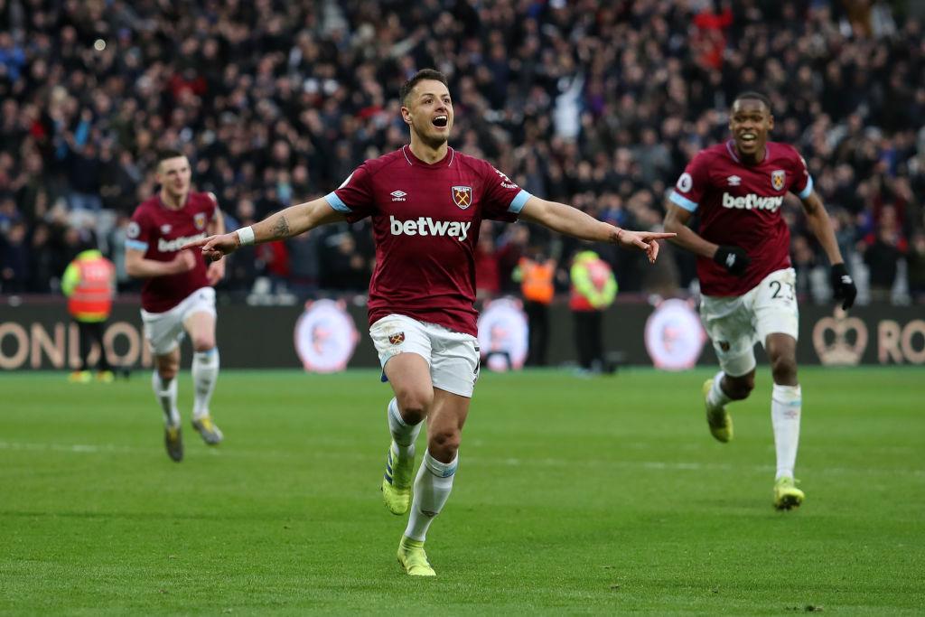 Chicharito hizo doblete en el triunfo del West Ham, leyeron bien… ¡doblete!