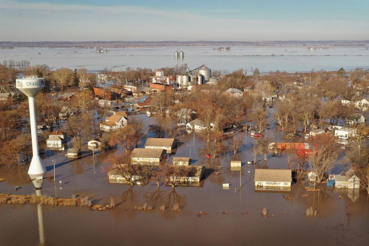 Hay tormentas en todo Estados Unidos con lluvia y clima severo para el centro del país