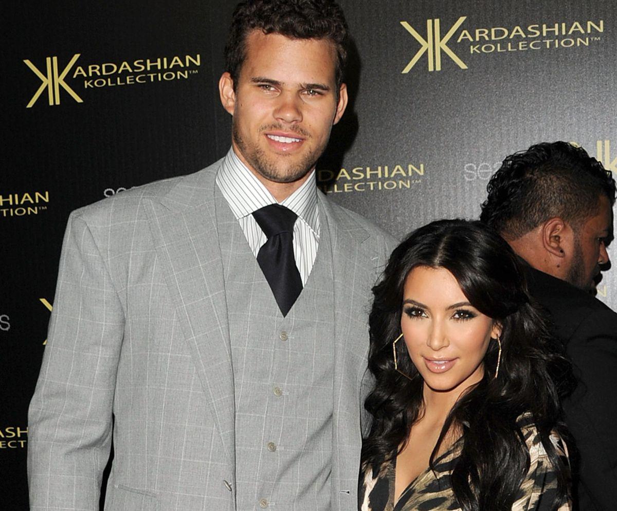 Kim Kardashian junto a su ex esposo, Kris Humphries.
