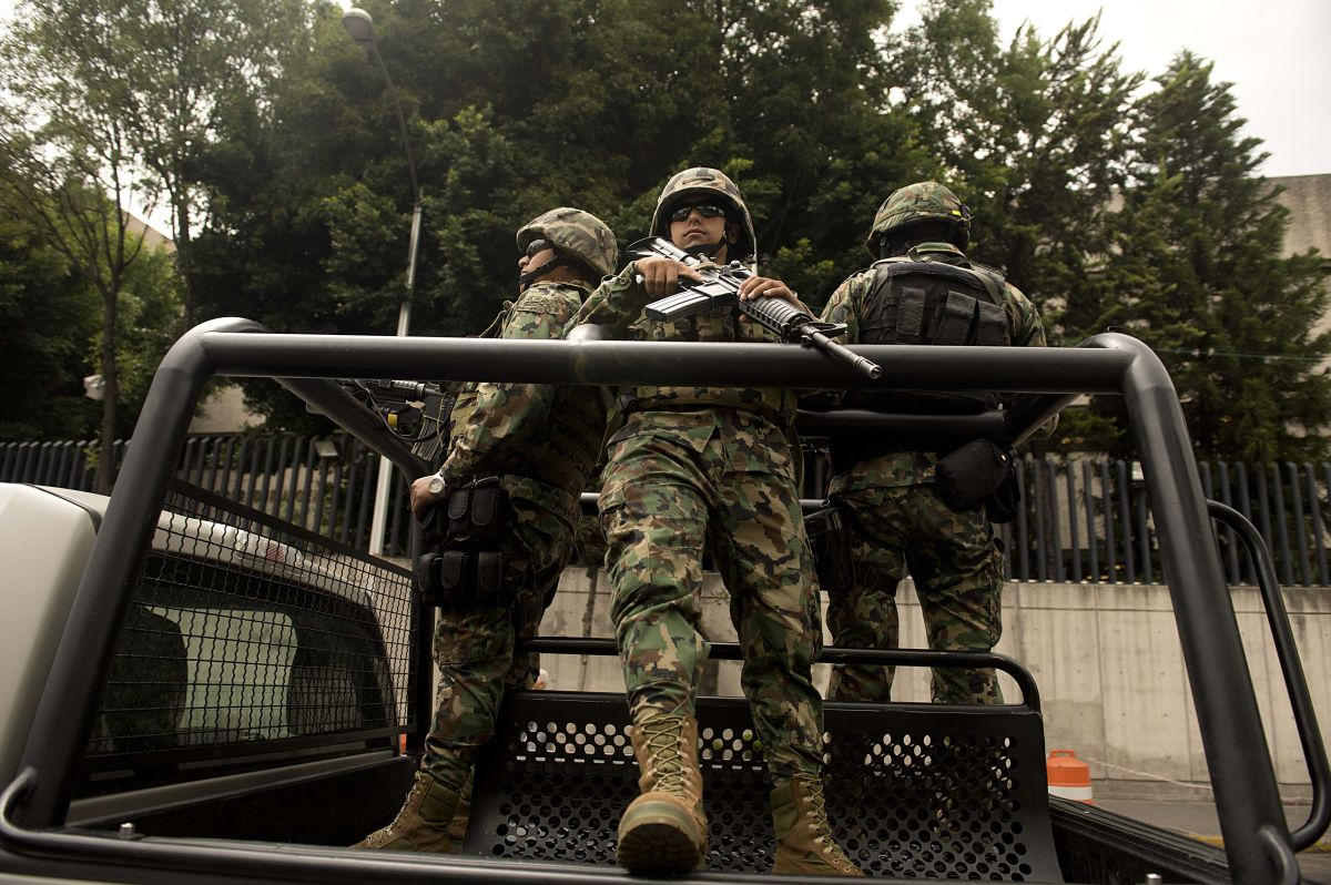 Los marines mexicanos enfrentan sin misericordia a los sicarios de cárteles.