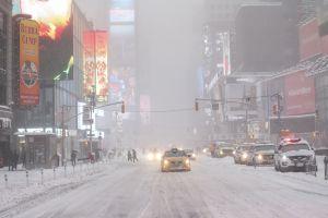 Alertan por tormenta de nieve este domingo y lunes en Nueva York