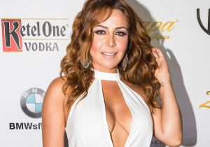 Con 22 semanas de embarazo Dayana Garroz, actriz de Telemundo, se deja ver sólo con ropa interior