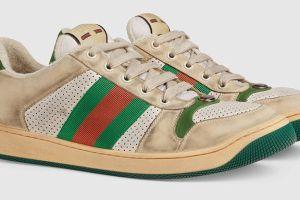 """Las zapatillas de Gucci que se venden en $900 dólares por estar """"sucias"""""""