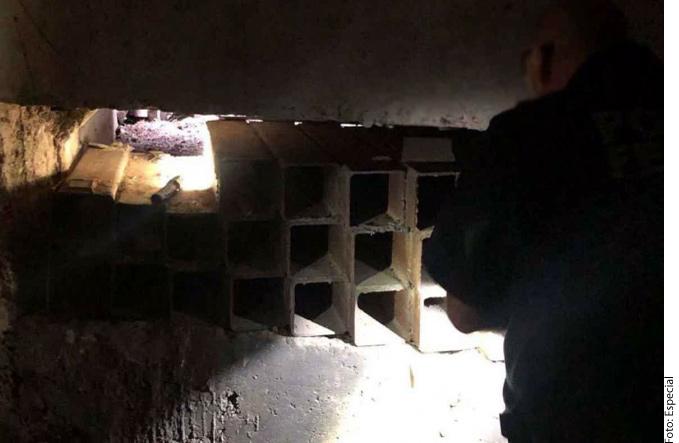 Descubren túnel en Nogales, Sonora que conectaba con una alcantarilla en Estados Unidos