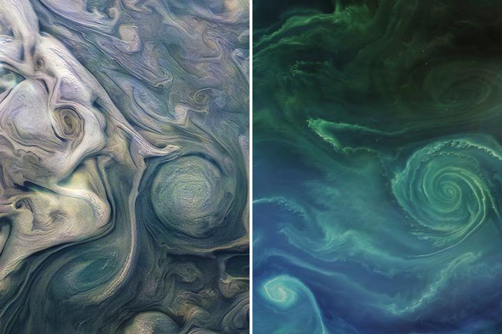 ¿En qué se pueden parecer Júpiter y la Tierra?