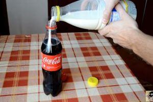 """""""MilkCoke"""", la moda de mezclar leche con Coca Cola que causa furor en Internet"""