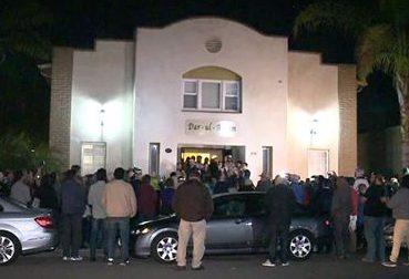 Estadounidenses se solidarizan con centro islámico en San Diego contra los crímenes de odio