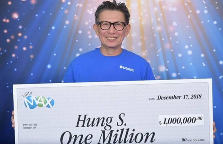 Compra boleto de lotería ganador de $1 millón con ayuda de sus compañeros de trabajo y huye con el dinero