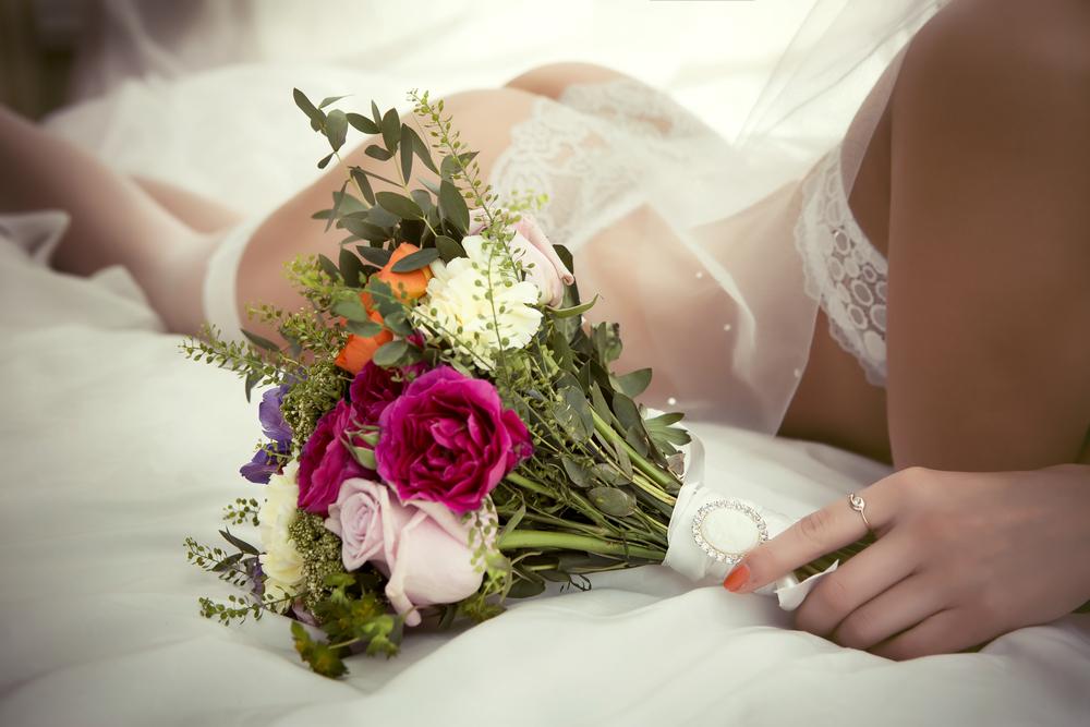 7 conjuntos de lencería blanca para sorprender a tu esposo en la noche de bodas