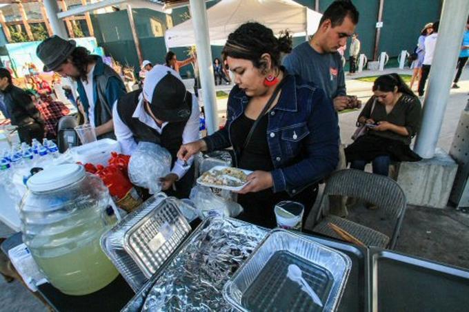 """Migrantes celebran  """"Juntos Somos Más"""" en Tijuana"""