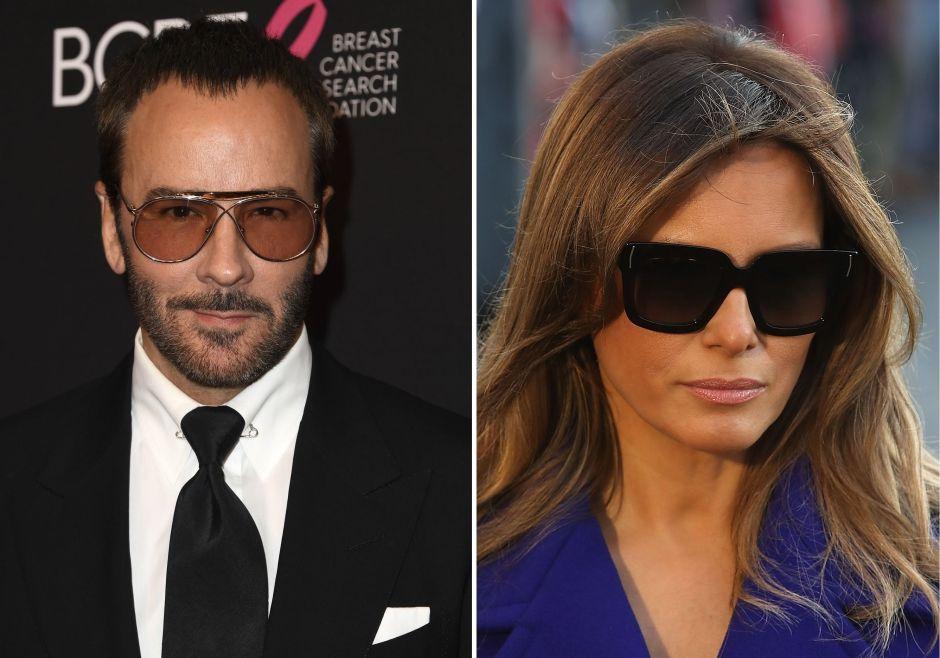 """¿El reconocido diseñador Tom Ford llamó """"escort"""" a Melania Trump y rechazó vestirla?"""