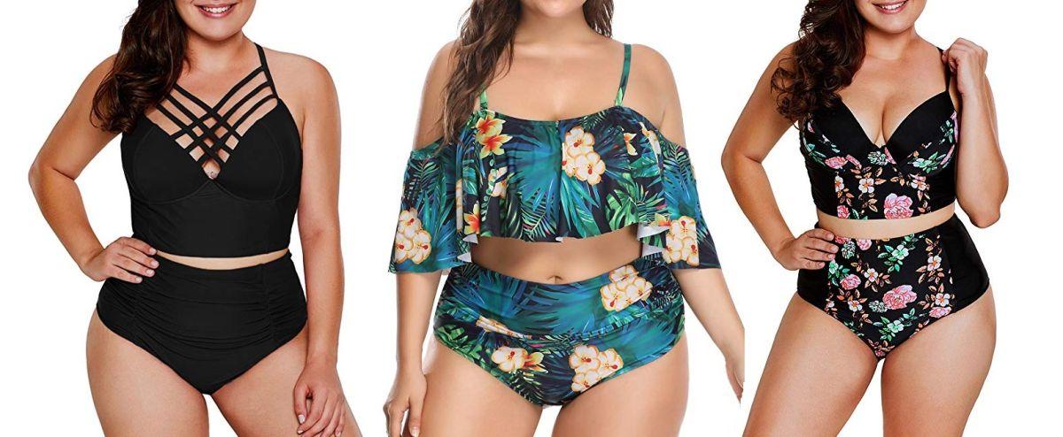 7 trajes de baño de cintura alta para mujeres plus size | La Opinión