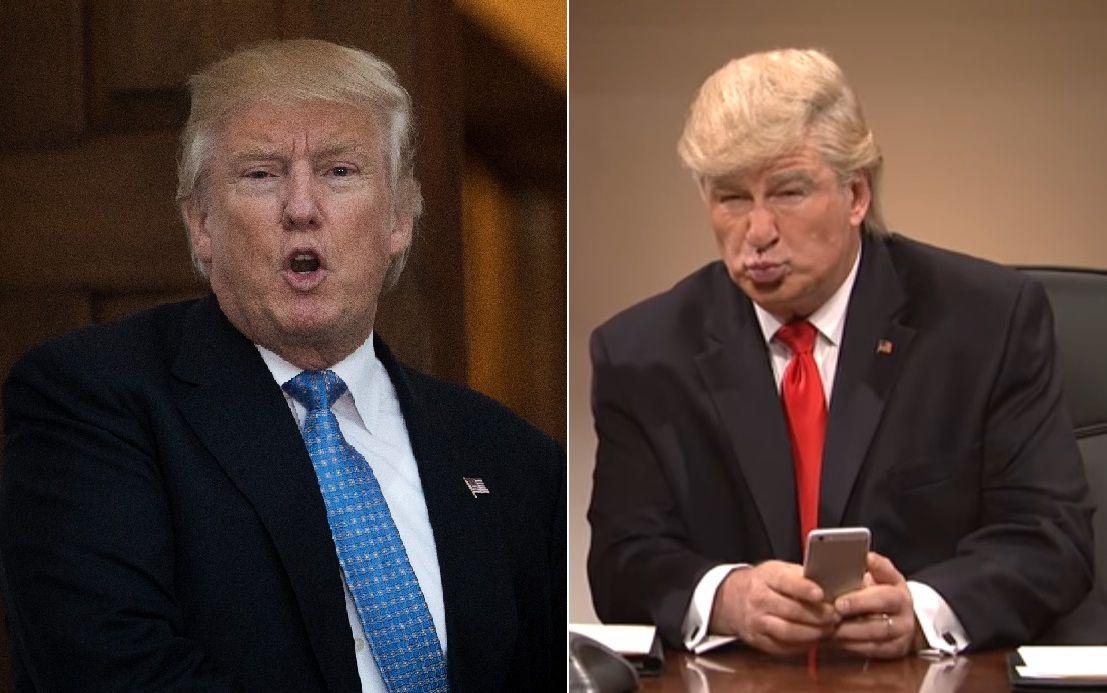 El presidente Trump ha criticado a Alec Baldwin por su caracterización.