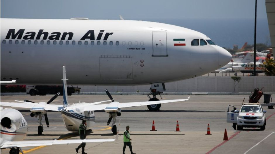 Mahan Air, la controvertida línea aérea de Irán que inició vuelos directos a Venezuela