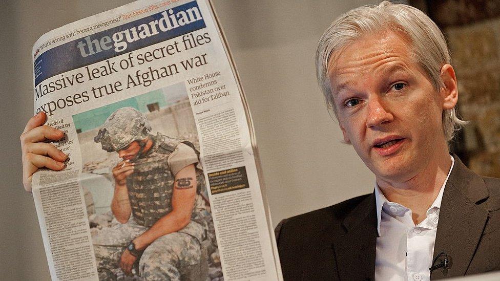 WikiLeaks realizó una filtración masiva de material clasificado del Ejército de EEUU.