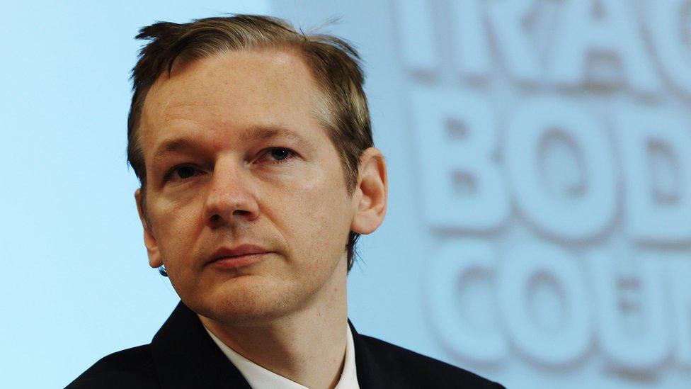 Assange en 2010, cuando realizó la primera filtración masiva en la era de internet.