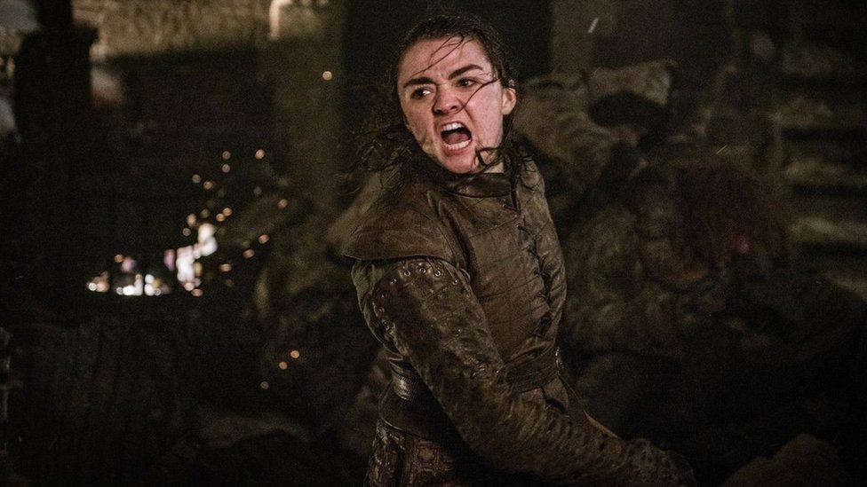 Arya Stark fue una de las grandes protagonistas.
