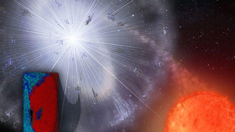 El grano de polvo alienígena hallado en la Antártica que puede dar pistas sobre el nacimiento del Sistema Solar