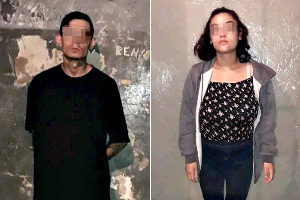 Christofer Filipini y Serena Monique Vázquez, ambos norteamericanos, acusados de intento de homicidio de su hija Eva.